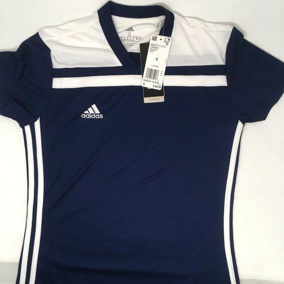 adidas Women's Regista 18 Jersey, Blue/White, S